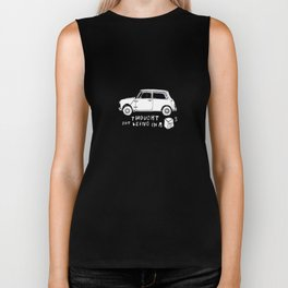 Mini Copper Classic. Thought for being in a box 152 ft³. Biker Tank