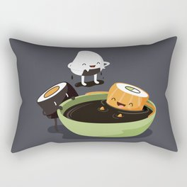 Sushi Bath Rectangular Pillow