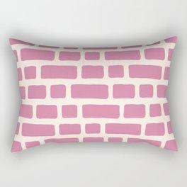 bricks (1) Rectangular Pillow