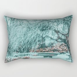 BYE BYE WINTER Rectangular Pillow