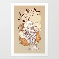 Mummy's Curse Art Print