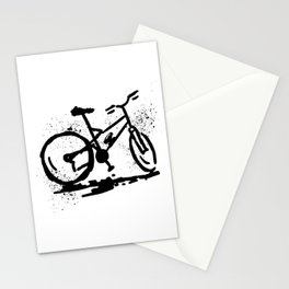 Rest bike Stationery Cards