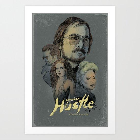 American Hustle Art Print