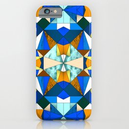 Kaleido Stained Glass iPhone Case