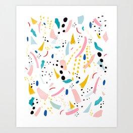 partyline Art Print