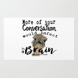 Infectious Conversation Rug