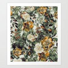 RPE FLORAL Art Print
