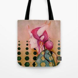 Demon Girl Tote Bag