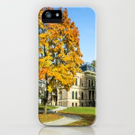 in the park... iPhone Case