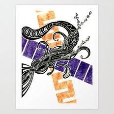 Ramo Fiorito Art Print