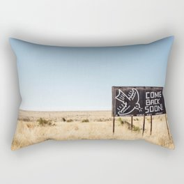 Leaving Marfa Rectangular Pillow