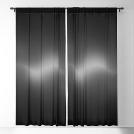 ACOUSTIC WAVES (BLACK) Blackout Curtain
