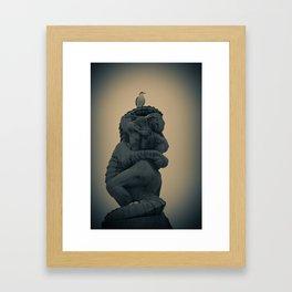 Dread at Vigelandsparken Framed Art Print