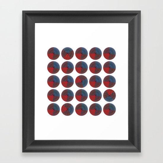 - blind - Framed Art Print