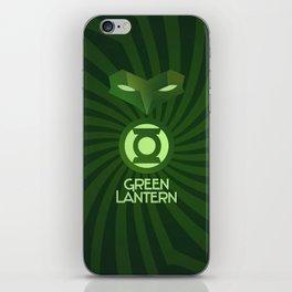 Green Lantern Art Deco iPhone Skin