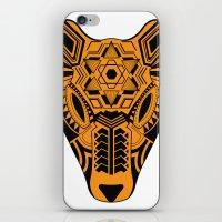 jaguar iPhone & iPod Skins featuring jaguar by danta