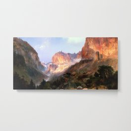 Golden Gate, Yellowstone National Park Metal Print
