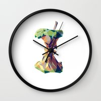 minimalist Wall Clocks featuring Keep Thinking Different. by Liam Brazier