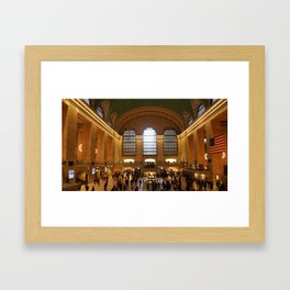 Grand Central Framed Art Print