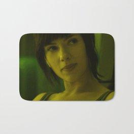 Scarlett Johansson - Celebrity (Florescent Color Technique) Bath Mat