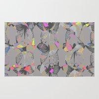 butterflies Area & Throw Rugs featuring Butterflies by Georgiana Paraschiv