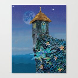Pilgrimage to the Temple of the Snake Canvas Print