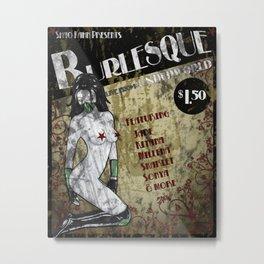 Jade Burlesque Poster Mortal Kombat Metal Print