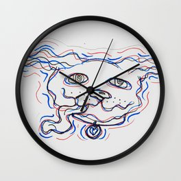 excited!!!! Wall Clock