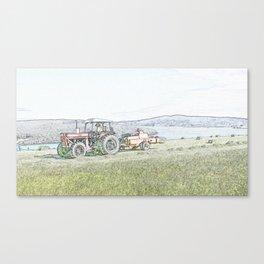 Making Hay Canvas Print