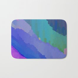 Abstact waterfall Bath Mat