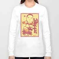 biggie Long Sleeve T-shirts featuring BIGGIE by DaeSyne Artworks