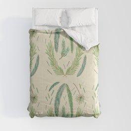 Pine Bough Study Comforters
