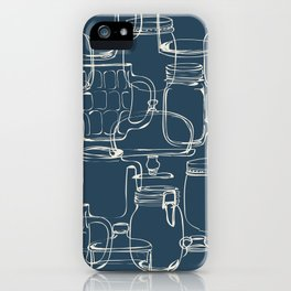 glass containers iPhone Case