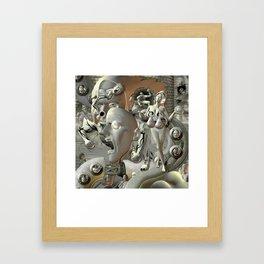 scumbags & funbags Framed Art Print