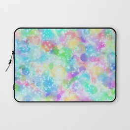 Rainbow Bubbles, Shining Stars and Color Magic Laptop Sleeve