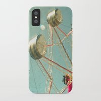 ferris wheel iPhone & iPod Cases featuring Ferris Wheel by Cassia Beck