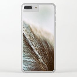 Happiness Is Clear iPhone Case