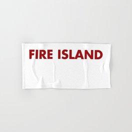 FIRE ISLAND Hand & Bath Towel
