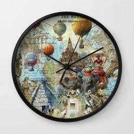 The World Traveller Wall Clock
