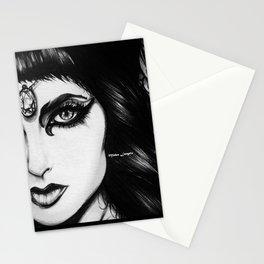 Cleopatra : Black Kajal Stationery Cards