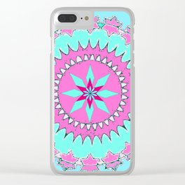 My Mandala Clear iPhone Case
