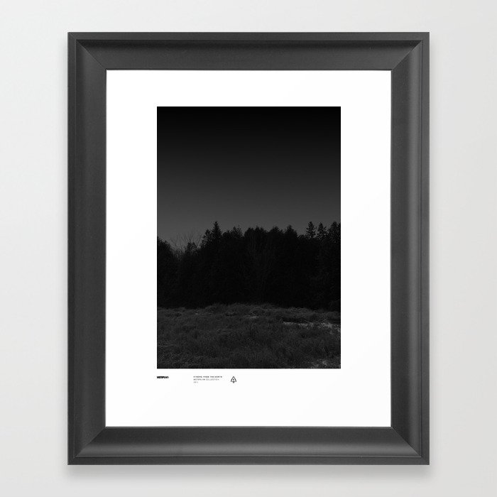 Strong From The North / MSTRPLN® Collection Framed Art Print
