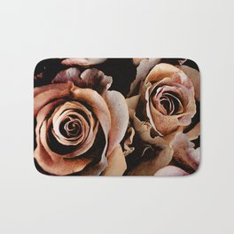 Vintage rose(3) Bath Mat