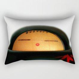 Japanese Doll Rectangular Pillow