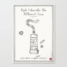 Gay Ointment: LGBT Poster Canvas Print