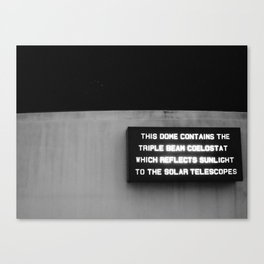 this dome Canvas Print