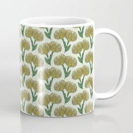 Pin Cushion Protea (Yellow) Coffee Mug