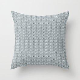Dandilion Fishscale Photo Collage Throw Pillow
