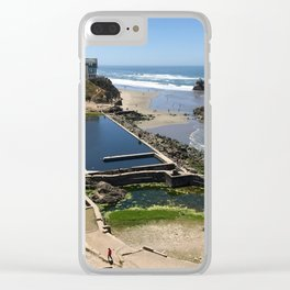Sutro Baths Clear iPhone Case