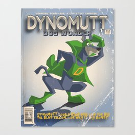 DYNOMUTT Canvas Print